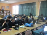 Curso Geonodo en Liceo Agrícola de La Cruz