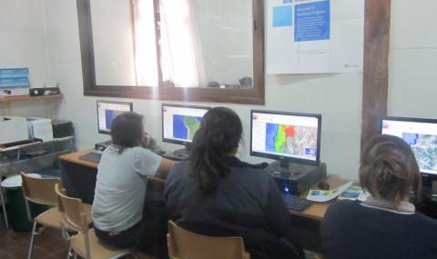 Curso Uso Geonodo en Instituto Pascual Baburizza de Los Andes
