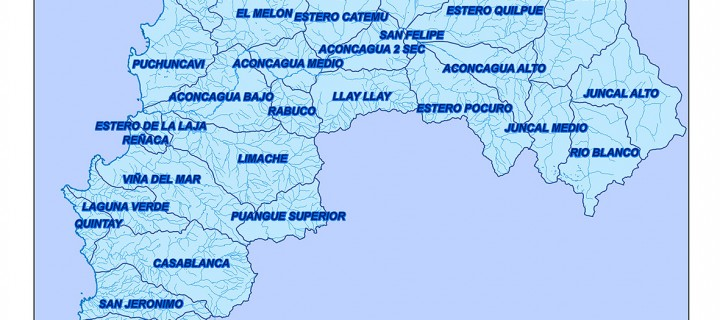 Cuencas Región de Valparaíso