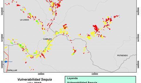Vulnerabilidad Sequia 2010