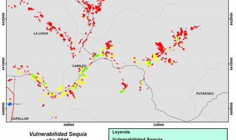 Vulnerabilidad Sequia 2011