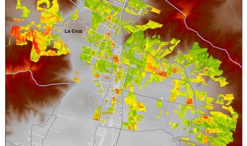 Banda Roja (Satélite Fasat Charlie) Palto Hass Comuna de La Cruz