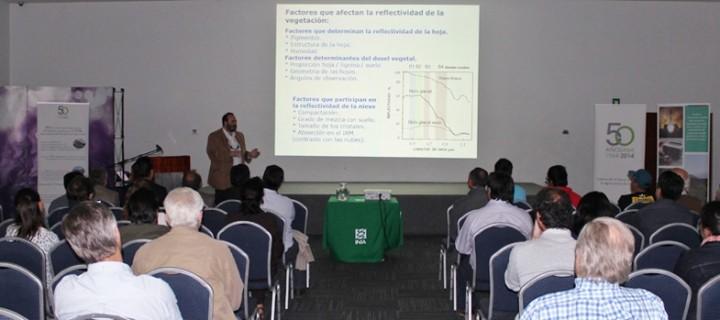 Seminario del INIA La Cruz mostró a agricultores tecnología satelital para mejorar manejo del palto
