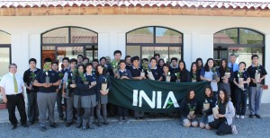 Estudiantes asistentes de la Semana Puertas Abiertas.